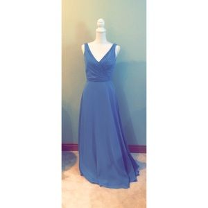 Alfred Angelo Bridesmaid Dress Blue